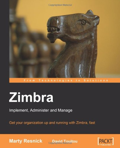 Zimbr Implement, Administer, Manage N/A edition cover