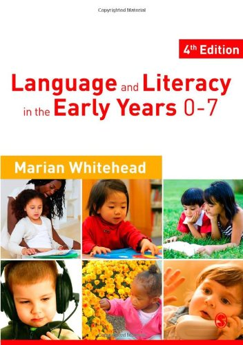 Language and Literacy in the Early Years 0-7  4th 2010 edition cover