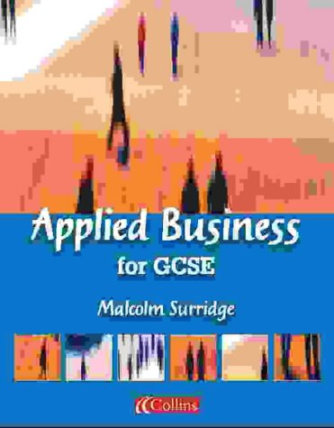 Applied Business for GCSE (Vocational GCSE) N/A edition cover