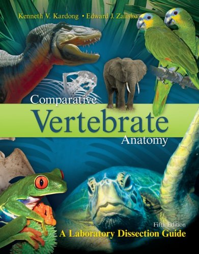 Comparative Vertebrate Anatomy A Laboratory Dissection Guide 5th 2009 edition cover