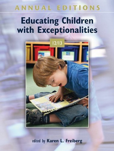 Educating Children with Exceptionalities  21st 2012 edition cover