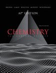 Chemistry The Central Science, AP Edition  2012 edition cover