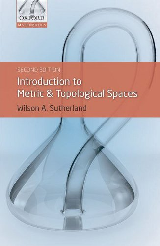 Introduction to Metric and Topological Spaces  2nd 2009 edition cover