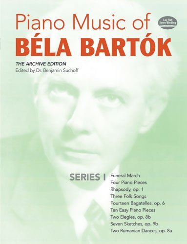 Piano Music of Bela Bartok  N/A edition cover