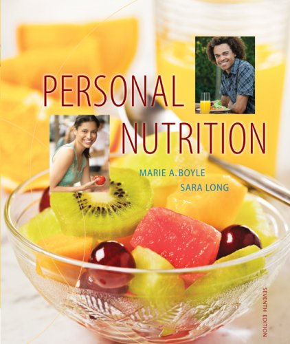 Personal Nutrition  7th 2010 edition cover