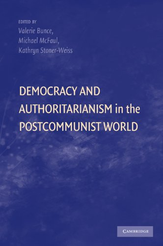 Democracy and Authoritarianism in the Postcommunist World   2010 edition cover