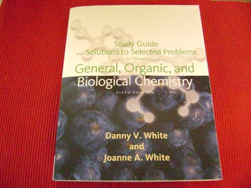 General, Organic, and Biological Chemistry  5th 2010 edition cover