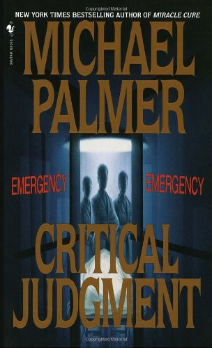 Critical Judgment A Novel Reprint 9780553574081 Front Cover