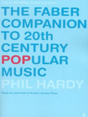 The Faber Companion to 20th Century Popular Music N/A edition cover