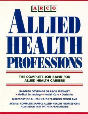 Allied Health Professions N/A 9780671847081 Front Cover