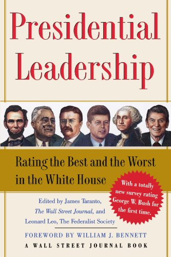 Presidential Leadership Rating the Best and the Worst in the White House  2005 9780743274081 Front Cover