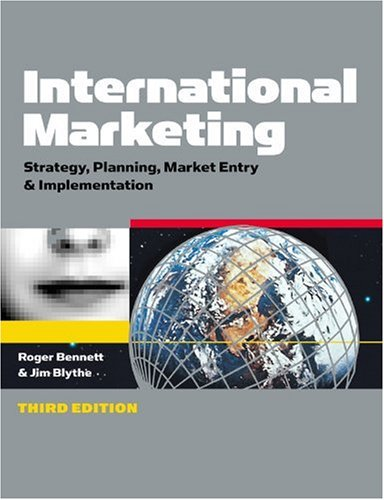 International Marketing Strategy, Planning, Market Entry and Implementation 3rd 2002 9780749438081 Front Cover