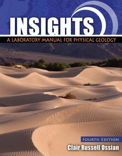 Insights A Laboratory Manual for Physical Geology 4th (Revised) edition cover