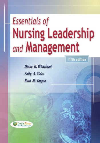 Essentials of Nursing Leadership and Management  5th 2010 (Revised) edition cover