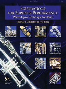 Foundations for Superior Performance : Bass Clarinet Student Manual, Study Guide, etc.  9780849770081 Front Cover
