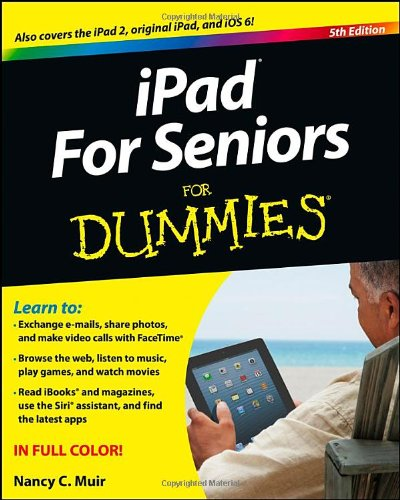 iPad for Seniors for Dummies�  5th 2012 edition cover