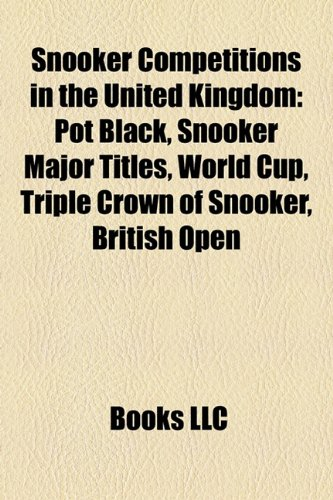 Snooker Competitions in the United Kingdom Pot Black  2010 edition cover
