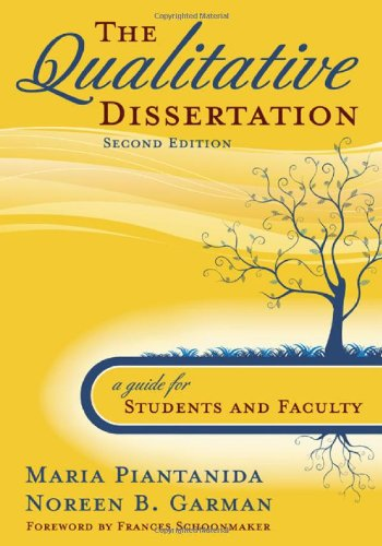 Qualitative Dissertation A Guide for Students and Faculty 2nd 2009 (Student Manual, Study Guide, etc.) edition cover