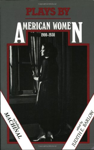 Plays by American Women, 1900-1930  Revised edition cover