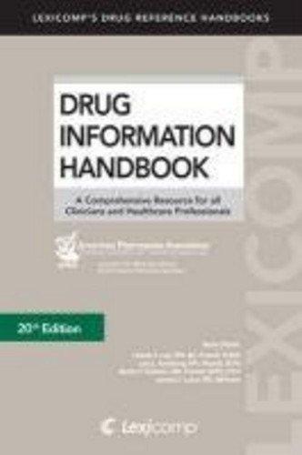 Drug Information Handbook With International Trade Names Index:  2012 edition cover