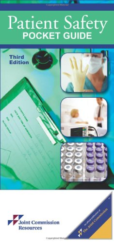 Patient Safety Pocket Guide  3rd 2012 edition cover