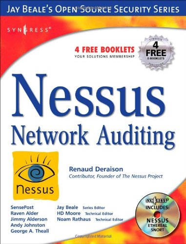Nessus Network Auditing   2004 edition cover