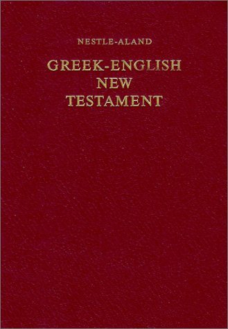 Greek-English New Testament 8th 1994 (Revised) edition cover