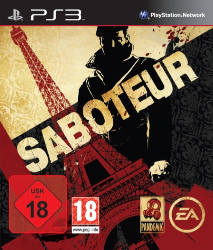 Saboteur PlayStation 3 artwork