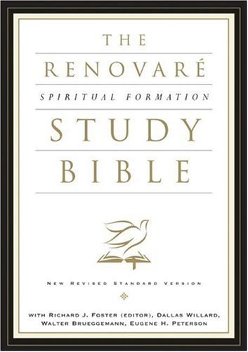 Renovar� Spiritual Formation Bible   2005 (Revised) edition cover
