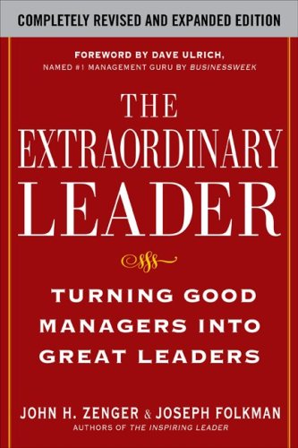 Extraordinary Leader Turning Good Managers into Great Leaders 2nd 2009 edition cover