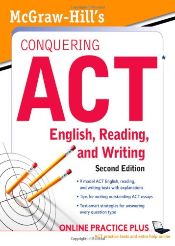 McGraw-Hill's Conquering ACT English Reading and Writing, 2nd Edition  2nd 2012 edition cover