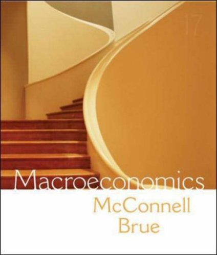 Macroeconomics : Principles, Problems, and Policies 17th 2008 (Revised) edition cover