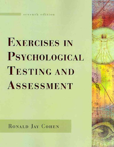Exercises in Psychological Testing and Assessment  7th 2010 9780073330082 Front Cover