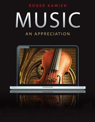 Music An Appreciation 10th 2011 9780078025082 Front Cover