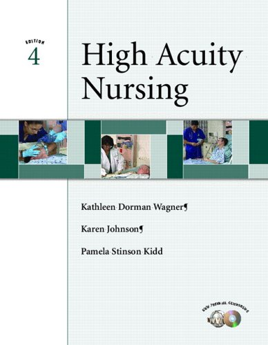 High-Acuity Nursing  4th 2006 edition cover