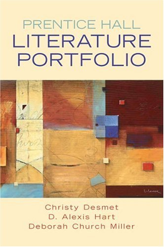 Prentice Hall Literature Portfolio   2007 edition cover