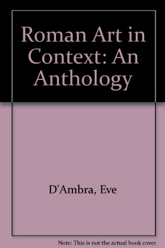 Roman Art in Context An Anthology 1st 1993 9780137818082 Front Cover