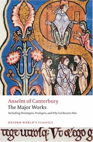 Anselm of Canterbury The Major Works  2008 edition cover