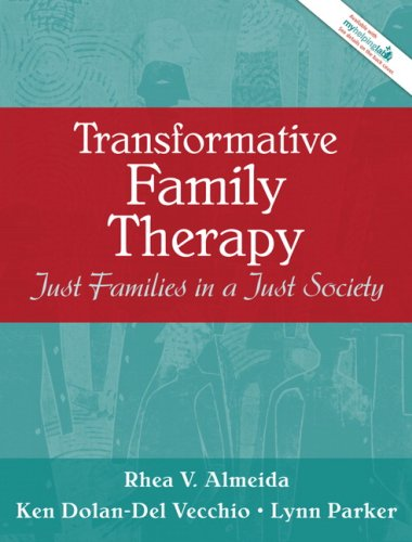 Transformative Family Therapy Just Families in a Just Society  2008 edition cover