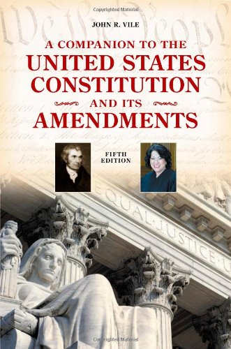 Companion to the United States Constitution and Its Amendments  5th 2010 (Revised) edition cover