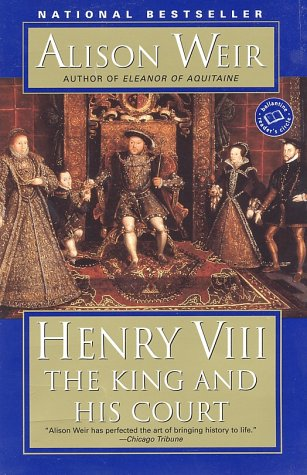 Henry VIII The King and His Court  2001 edition cover