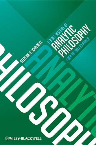 Brief History of Analytic Philosophy From Russell to Rawls  2012 edition cover