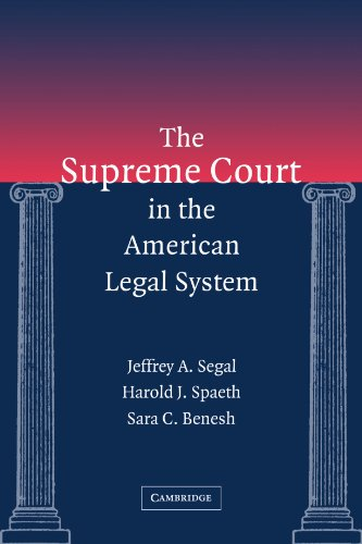 Supreme Court in the American Legal System   2005 edition cover
