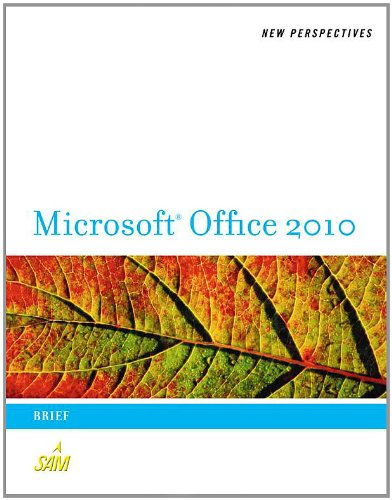 New Perspectives on Microsoft Office 2010 Brief  2011 9780538743082 Front Cover