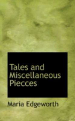Tales and Miscellaneous Piecces:   2008 edition cover