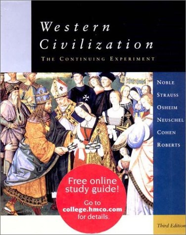 Western Civilization Complete 3rd 2002 9780618102082 Front Cover