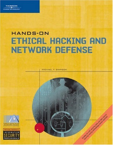 Ethical Hacking and Network Defense   2006 edition cover