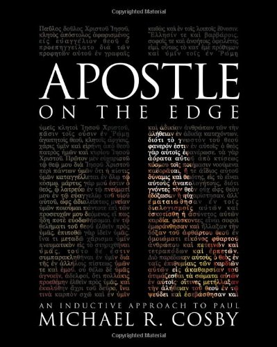 Apostle on the Edge An Inductive Approach to Paul  2009 edition cover