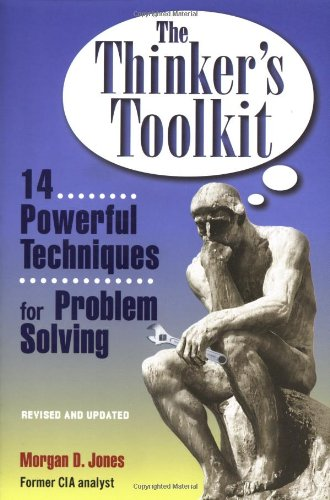 Thinker's Toolkit 14 Powerful Techniques for Problem Solving  1998 edition cover