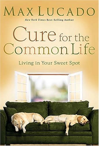 Cure for the Common Life Living in Your Sweet Spot  2006 (Annotated) 9780849900082 Front Cover